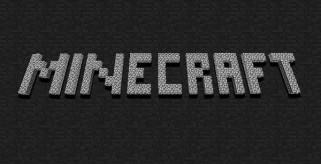 imagen del logotipo de Minecraft, para mostrar una actualización antes de la versión 1.2