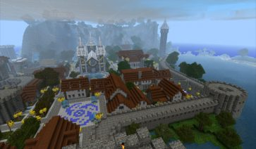 Castle Lividus of Aeritus Map para Minecraft 1.1