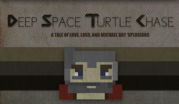 imagen del mapa Deep Space Turtle Chase, actualizado para funcionar con Minecraft 1.1