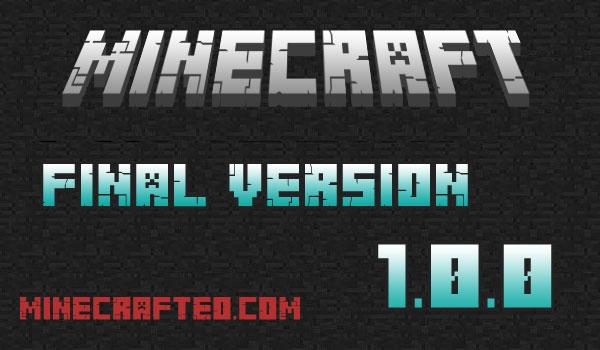 Minecraft 1.0.0 Versión Final