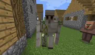 imagen del nuevo mob de la snapshot 12w08a de minecraft