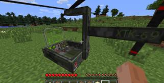 imagen del helicoptero disponible en el mod THX Helicopter Mod, disponible ya en Minecraft 1.1