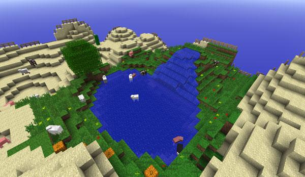 imagen del mapa Desert Oasis Survival