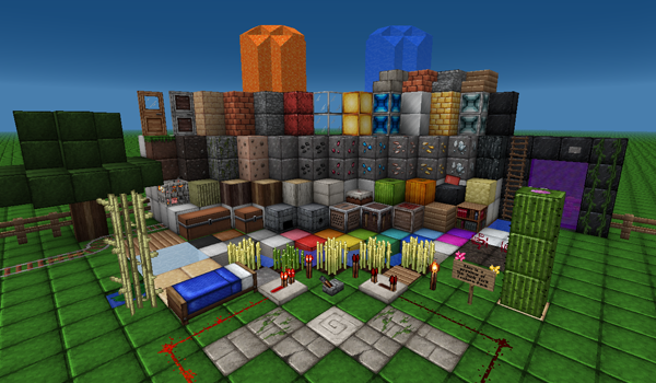 Junk Jack Texture Pack para Minecraft 1.2