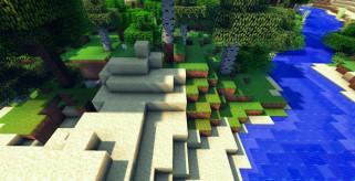 imagen de muestra, donde se ven las sombras que genera este mod.