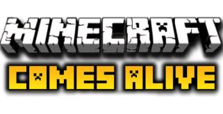 logotipo del mod, minecraft comes alive 1.2.5