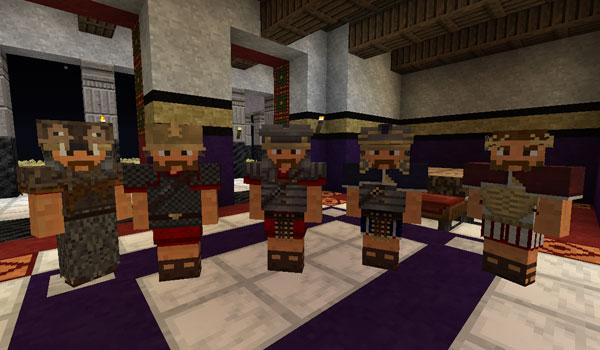 imagen de los verstidos y armaduras de romecraft 1.7.2