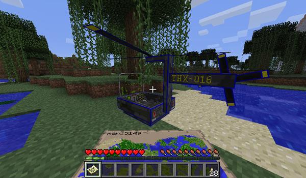 THX Helicopter Mod para Minecraft 1.2.5
