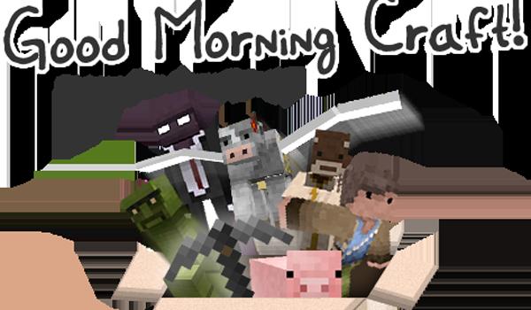 Good Morning Craft Texture Pack para Minecraft 1.2.5