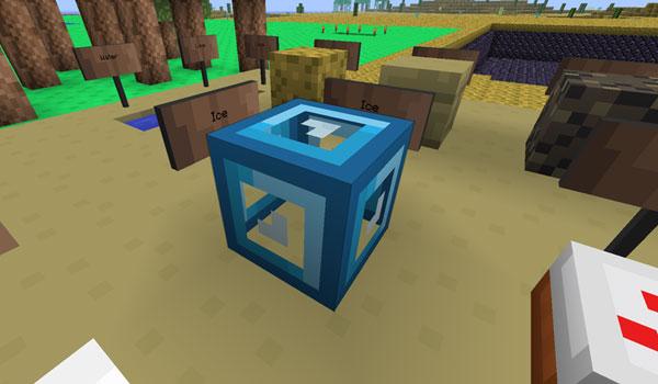 imagen de un escenario decorado con el paquete de texturas terraria 1.2.5