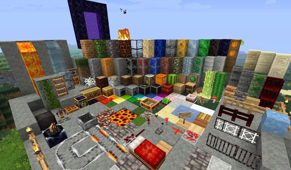 Forgotten Lands Texture Pack para Minecraft 1.2.5