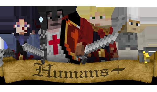 Humans Plus Mod para Minecraft 1.2.5