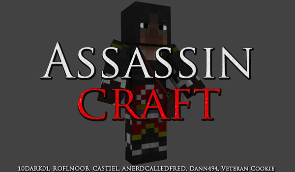 Assassin Craft Mod para Minecraft 1.2.5