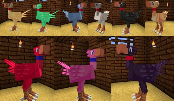 Chococraft Mod para Minecraft 1.2.5