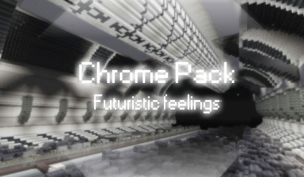 logotipo del paquete de texturas chrome 1.2.5 para Minecraft.