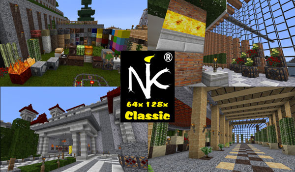 KoP Classic Texture Pack para Minecraft 1.8