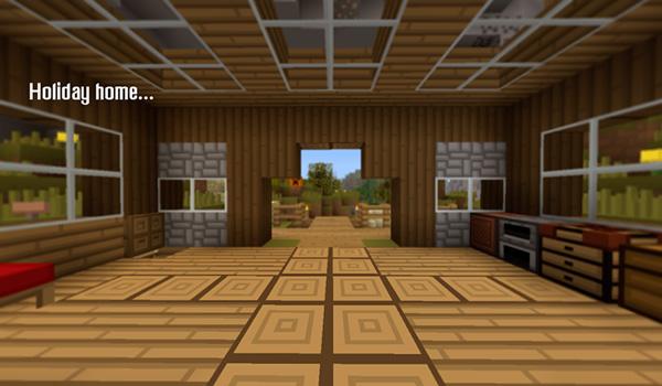 Imagen donde podemos hacernos una idea de como quedaría el interior de una vivienda con el paquete de texturas Maxpack 1.12.