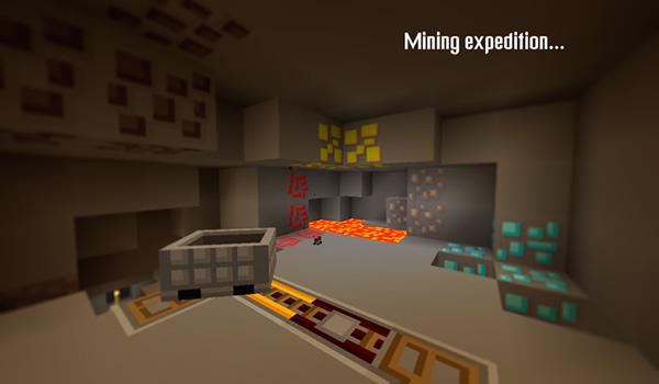 Imagen donde podemos apreciar el aspecto que tendrán las minas al instalar Maxpack Texture Pack 1.12.