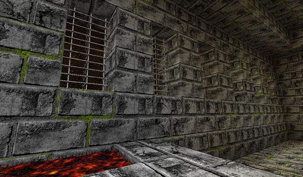 imagen de una habitación recubierta con piedra, gracias al pack picture perfect 1.2.5