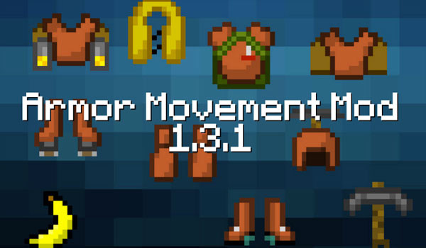 Armor Movement Mod para Minecraft 1.3.1