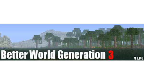 Better World Generation 3 Mod para Minecraft 1.3.1