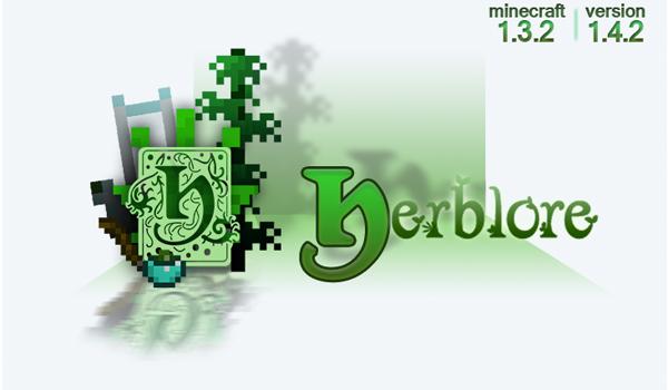 Herblore Mod para Minecraft 1.3.2