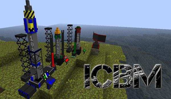 ICBM Mod para Minecraft 1.3.2