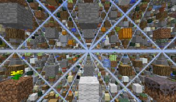 SkyGrid Survival Map para Minecraft 1.3.1