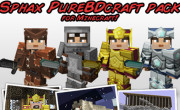 Sphax PureBDCraft Texture Pack para Minecraft 1.3.1