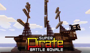 Super Pirate Battle Royale Map para Minecraft 1.3.1