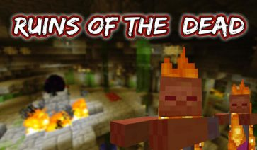 Ruins of the Dead Map para Minecraft 1.6.2