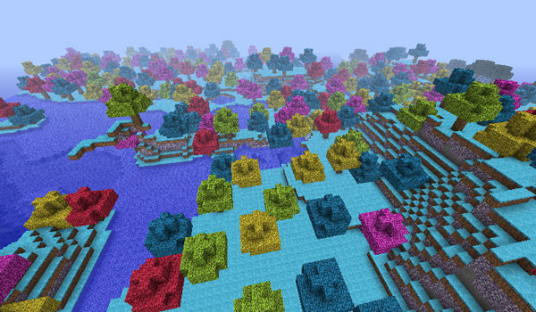 Terraria 3D Mod para Minecraft 1.3.2