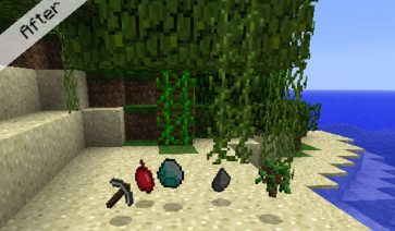 3D Items Mod para Minecraft 1.4.2
