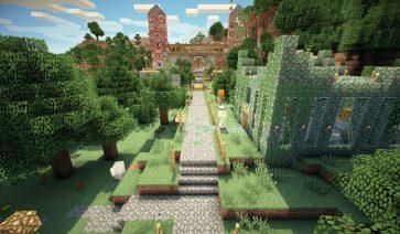 Mansion Adventure Map para Minecraft 1.9