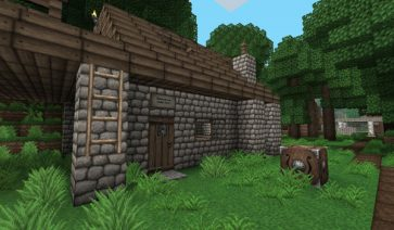 Ovo's Rustic Texture Pack para Minecraft 1.10 y 1.9