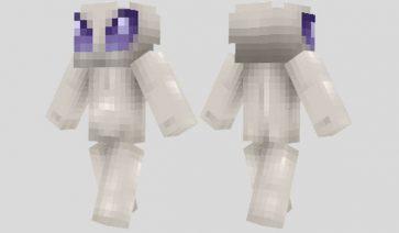 Alien Skin para Minecraft