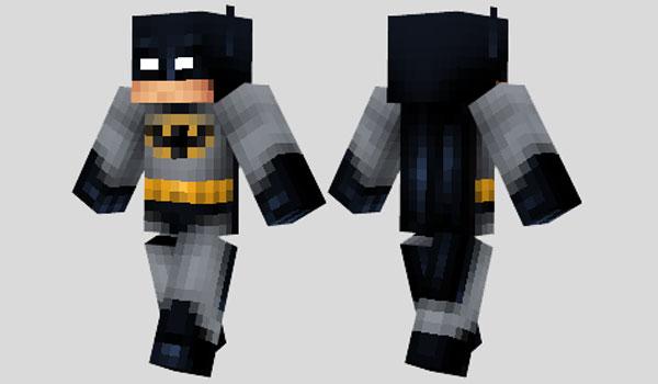Batman Skin Para Minecraft MineCrafteo - Skin para minecraft q