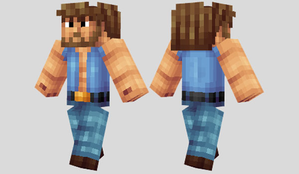 Chuck Norris Skin para Minecraft