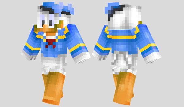 Donald Duck Skin para Minecraft