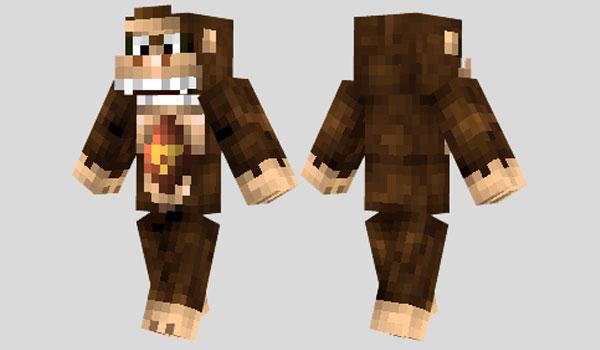 Donkey Kong Skin para Minecraft