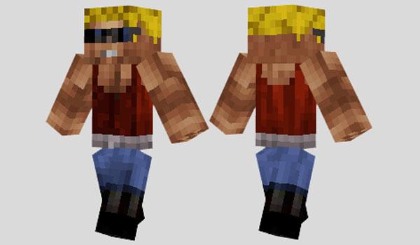Duke Nukem Skin para Minecraft
