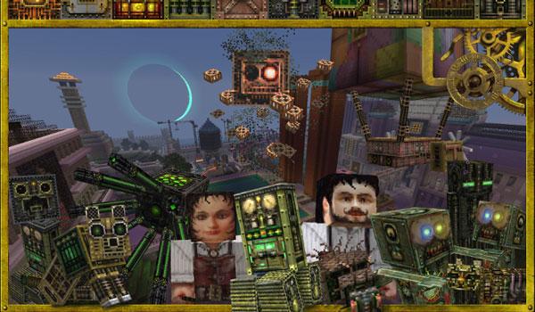 Glimmar's Steampunk Texture Pack Minecraft 1.8
