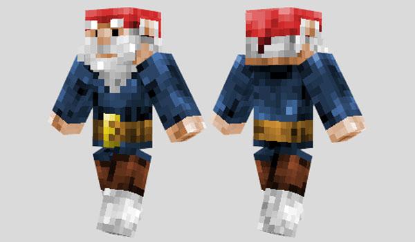 Gnome Skin para Minecraft