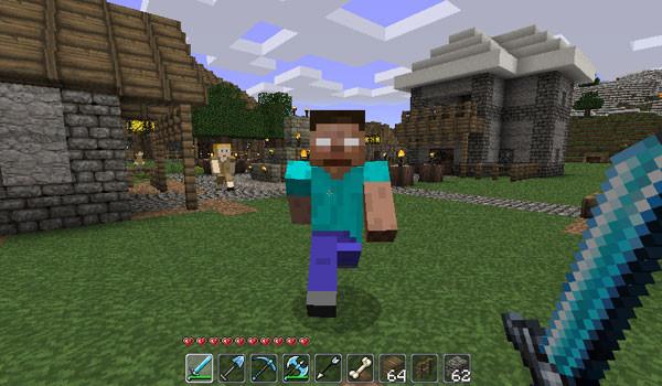 Herobrine Mod para Minecraft 1.4.4 y 1.4.5