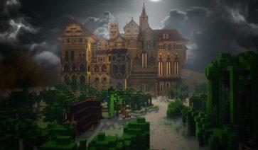Herobrine's Mansion Map para Minecraft 1.6.2