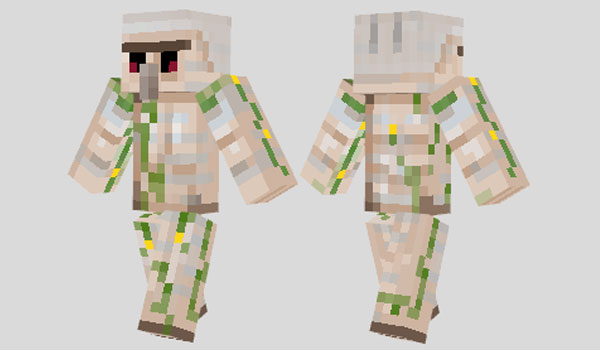 Iron Golem Skin para Minecraft
