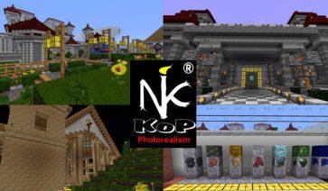 KoP Photo Realism Texture Pack para Minecraft 1.12 y 1.11