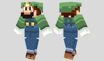 Luigi Skin para Minecraft