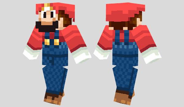 Mario Skin para Minecraft