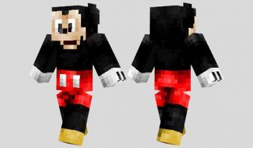 Mickey Mouse Skin para Minecraft